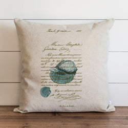 French Shell Pillow Cover. - Porter Lane Home