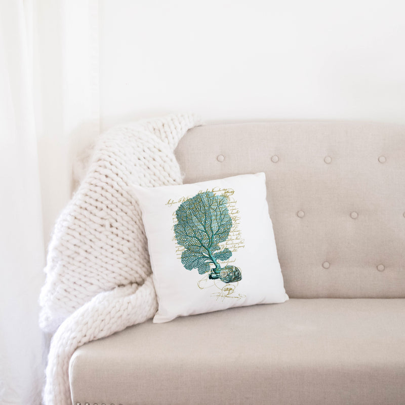 French Shell {Style 2} Pillow Cover. - Porter Lane Home