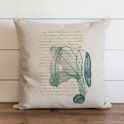 French Shell {Style 3} Pillow Cover. - Porter Lane Home