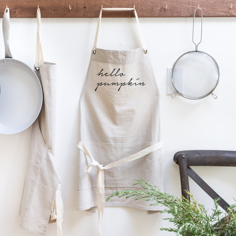 Hello Pumpkin Apron - Porter Lane Home