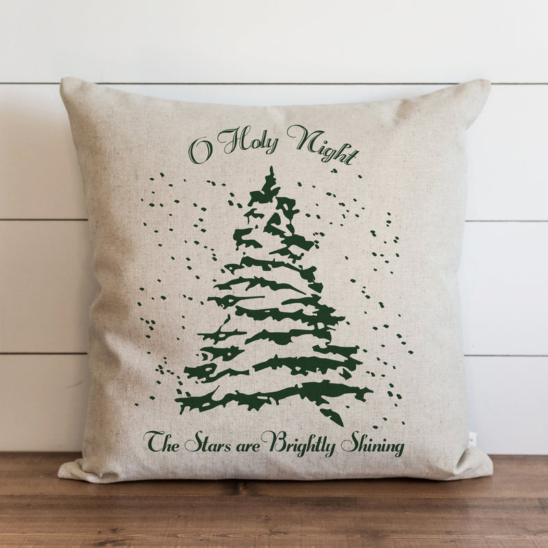 Oh Holy Night Pillow Cover. - Porter Lane Home
