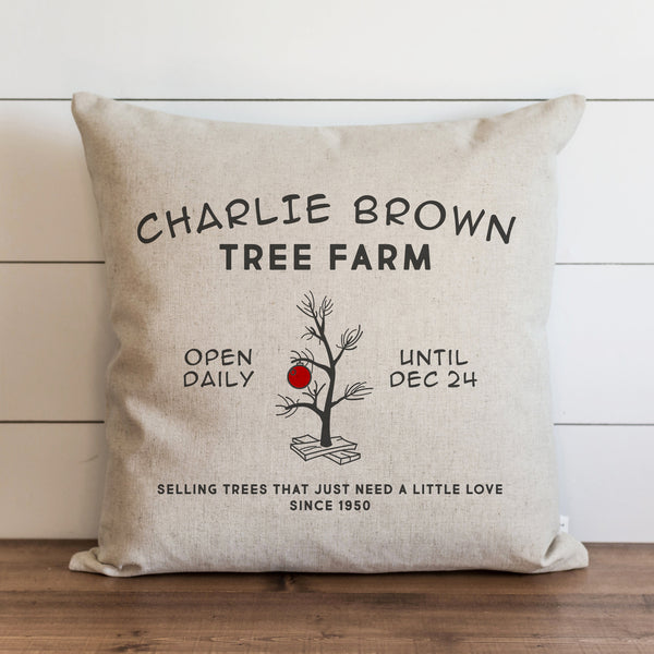 CB Tree Farm Pillow Cover. - Porter Lane Home