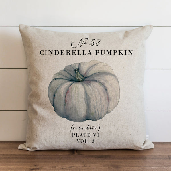 Botanical Cinderella Pumpkin Pillow Cover - Porter Lane Home