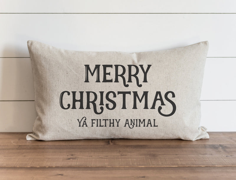 Filthy Animal Pillow Cover. - Porter Lane Home