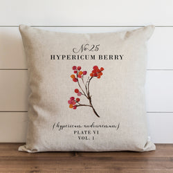Hypericum Berry Pillow Cover. - Porter Lane Home