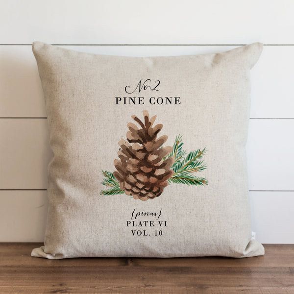 Pine Cone 2 Pillow Cover. - Porter Lane Home