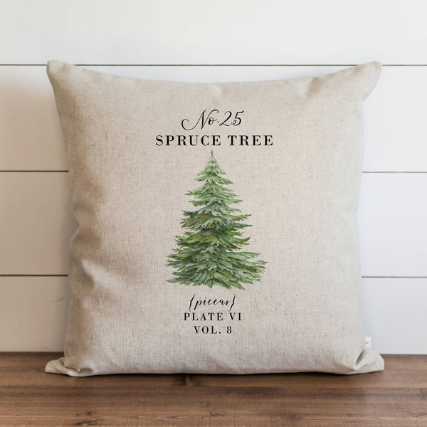Spruce Tree Pillow Cover.