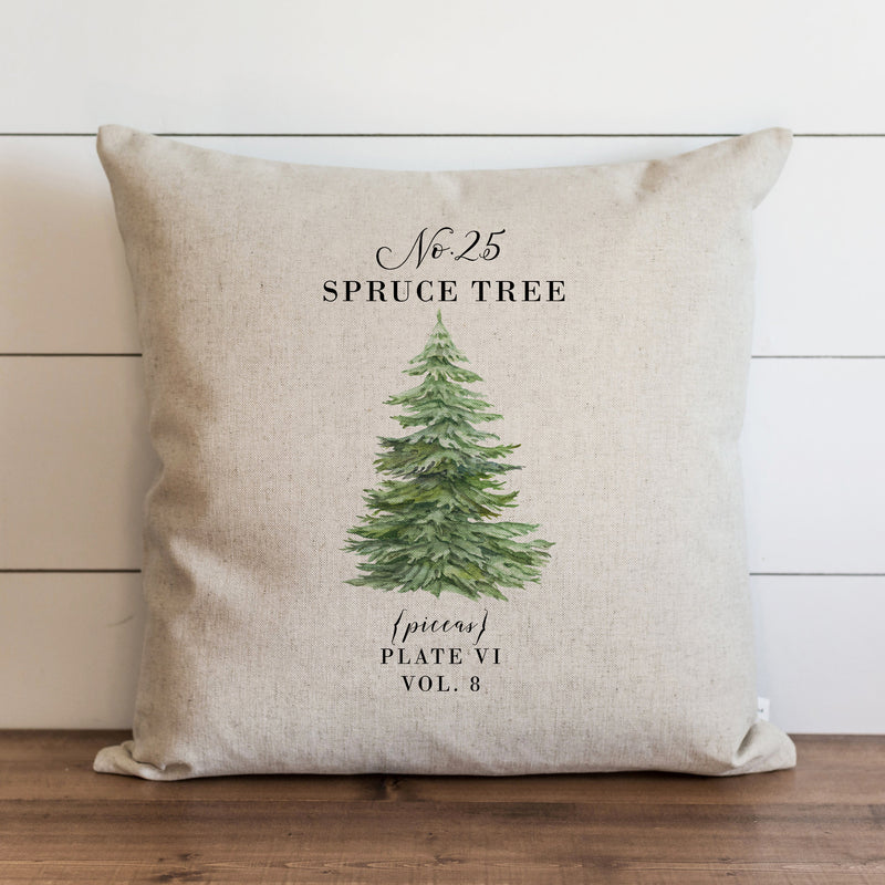 Spruce Tree Pillow Cover. - Porter Lane Home