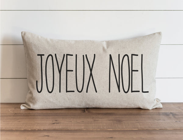 Joyeux Noel Pillow Cover. - Porter Lane Home