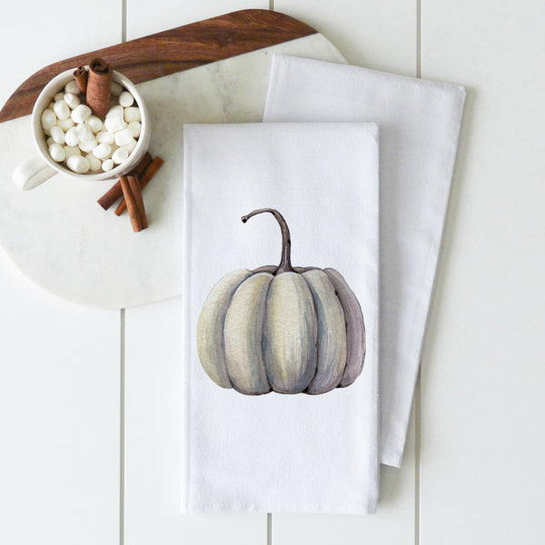 Pumpkin Tea Towel {Style 1} - Porter Lane Home
