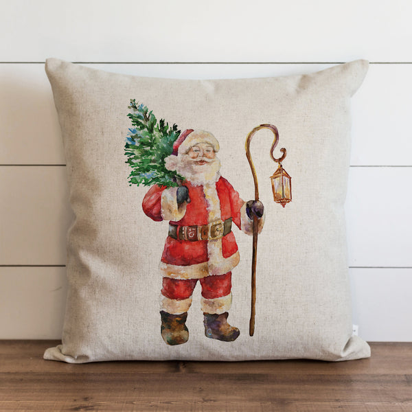 Santa Pillow Cover. - Porter Lane Home