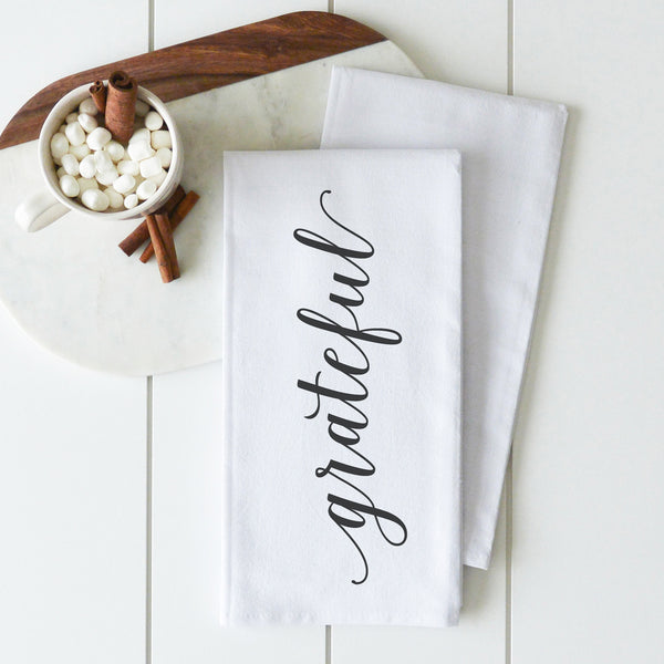 Grateful Tea Towel - Porter Lane Home