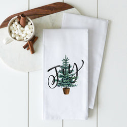 Joy Tree Tea Towel