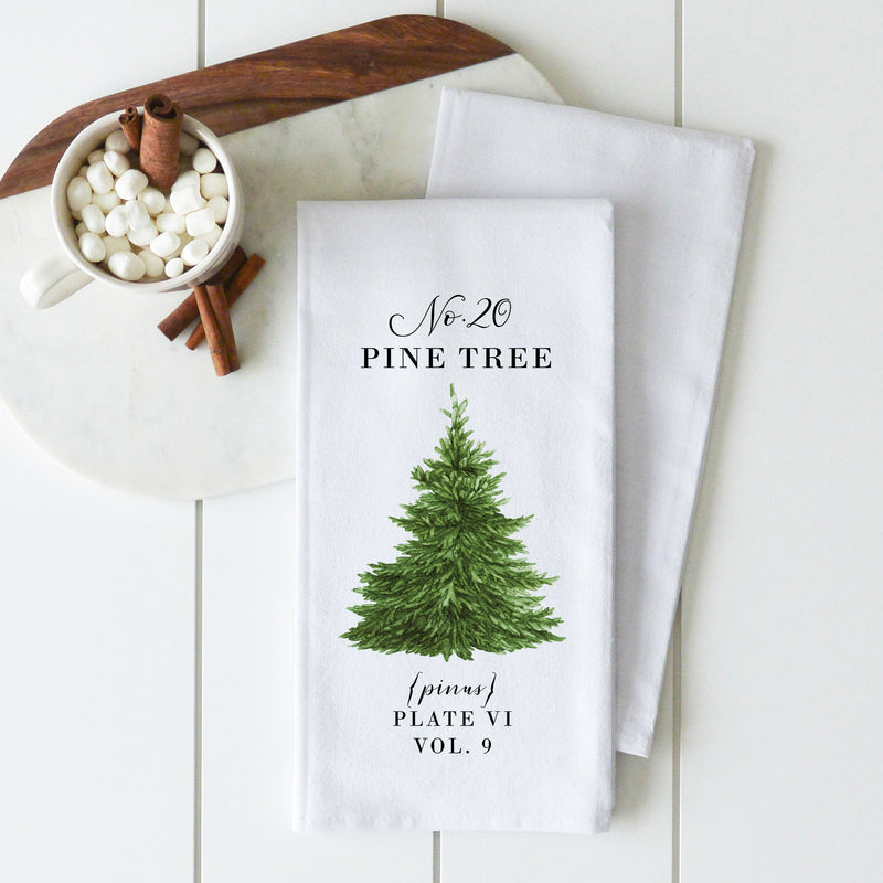 Pine Tree Tea Towel