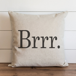 Brrr. Pillow Cover. - Porter Lane Home