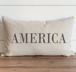 America Pillow Cover. - Porter Lane Home