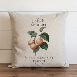 Botanical Apricot Pillow Cover. - Porter Lane Home