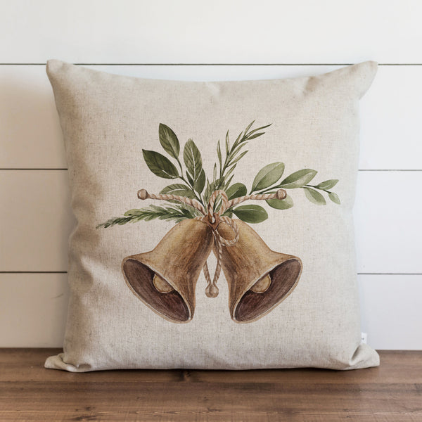 Gold Bells Pillow Cover. - Porter Lane Home