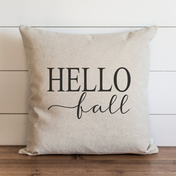 Hello Fall Pillow Cover. - Porter Lane Home