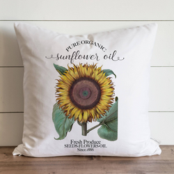 Sunflower Pillow Cover. - Porter Lane Home