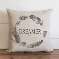 Dreamer Pillow Cover. - Porter Lane Home
