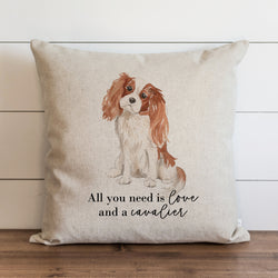 All You Need is Love {Cavalier} Pillow Cover. - Porter Lane Home