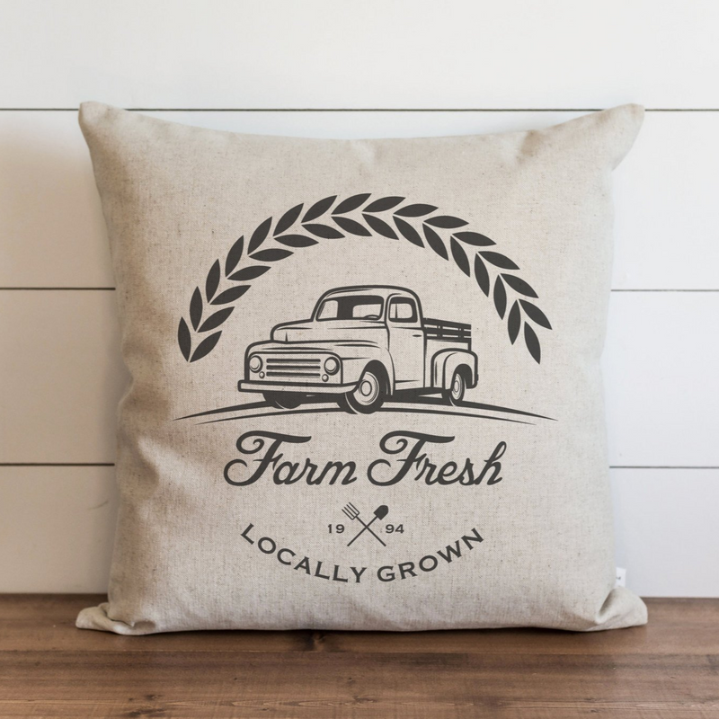 Farm Fresh Pillow Cover. - Porter Lane Home