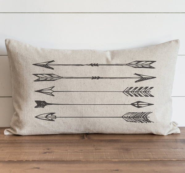 Arrows Pillow Cover. - Porter Lane Home