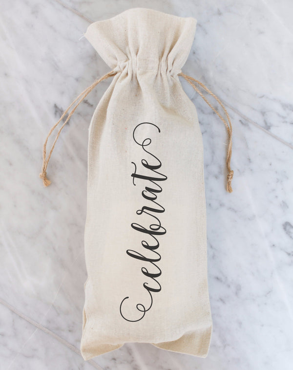 Celebrate Wine Bag - Porter Lane Home