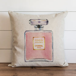 Designer Inspired Perfume Pillow Cover. - Porter Lane Home