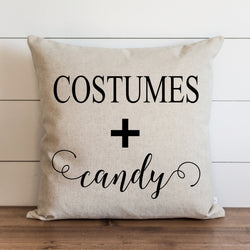 Costumes + Candy Pillow Cover. - Porter Lane Home