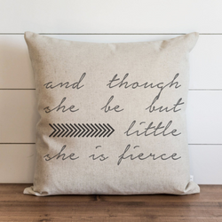 She Is Fierce Pillow Cover. - Porter Lane Home