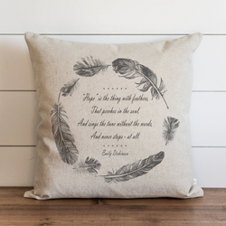 Hope Pillow Cover. - Porter Lane Home