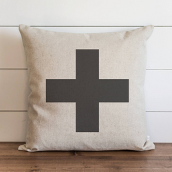 Swiss Cross Pillow Cover. - Porter Lane Home