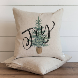 Joy Tree Pillow Cover. - Porter Lane Home