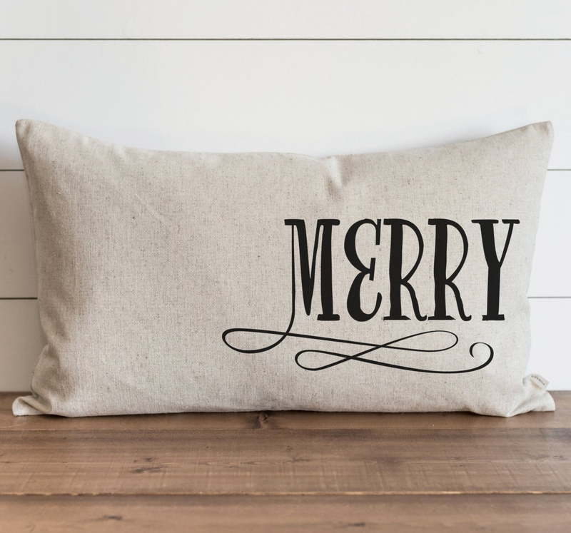 Merry Pillow Cover. - Porter Lane Home