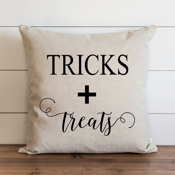 Tricks + Treats Pillow Cover.