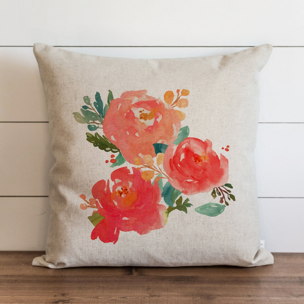 Floral Pillow Cover. - Porter Lane Home