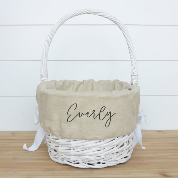 Personalized Easter Basket Liner - Porter Lane Home