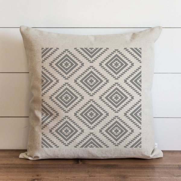 Aztec Pattern Pillow Cover. - Porter Lane Home