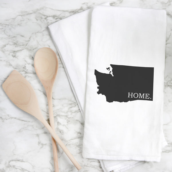 Custom Home State Tea Towel - Porter Lane Home