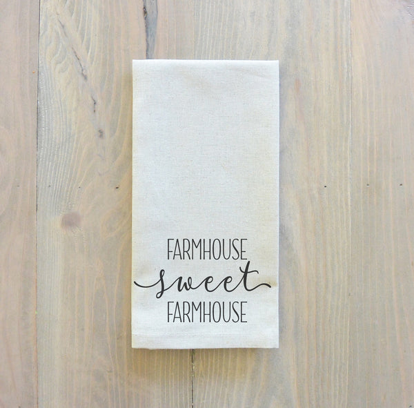 Farmhouse Sweet Farmhouse Napkin - Porter Lane Home