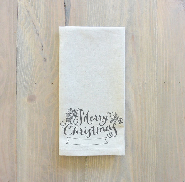 Merry Christmas Napkin - Porter Lane Home