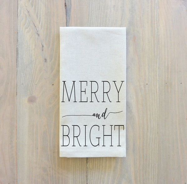 Merry and Bright Napkin - Porter Lane Home