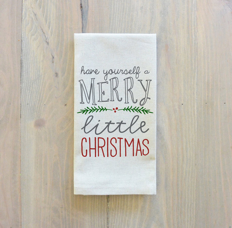 Have Yourself A Merry Little Christmas Napkin - Porter Lane Home