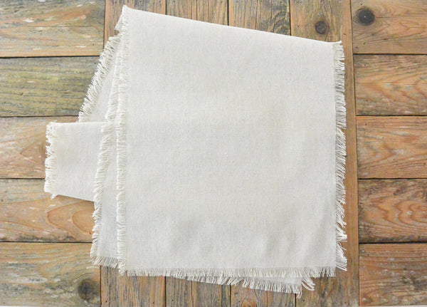 Plain Table Runner - Porter Lane Home