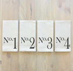 No. Napkin Set - Porter Lane Home