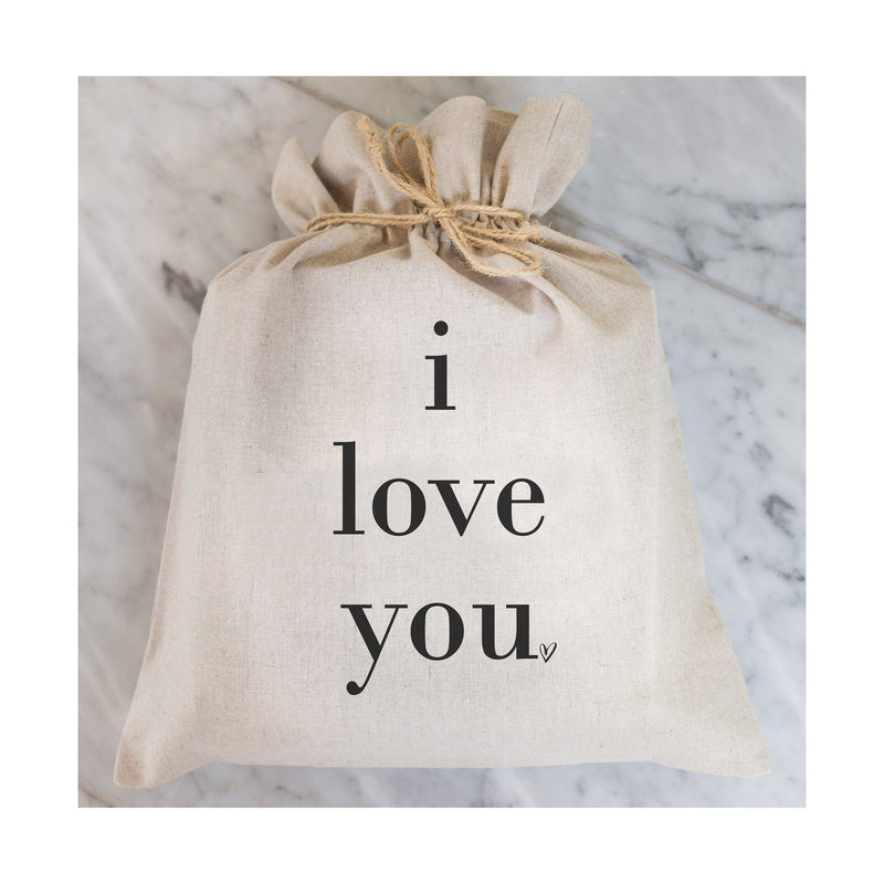 I Love You Gift Bag // Gift Wrap // Packaging Bag // Present // Party Favor // Wedding Favor // Gift Bag // Hostess Gift - Porter Lane Home