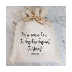 Hap-Hap-Happiest Christmas Gift Bag // Clark Griswold // Gift Wrap // Packaging // Present // Party Favor // Gift Bag // Hostess Gift - Porter Lane Home