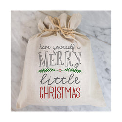 Have Yourself a Merry Little Christmas Gift Bag // Gift Wrap // Packaging // Present // Party Favor // Gift Bag // Hostess Gift - Porter Lane Home